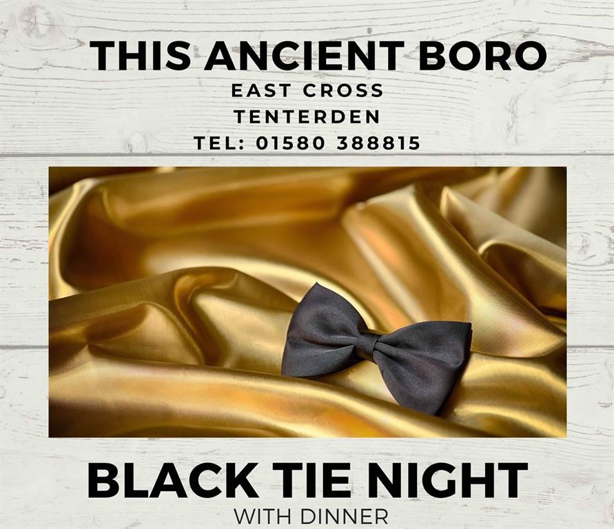 Black Tie Night with dinner at This Ancient Boro