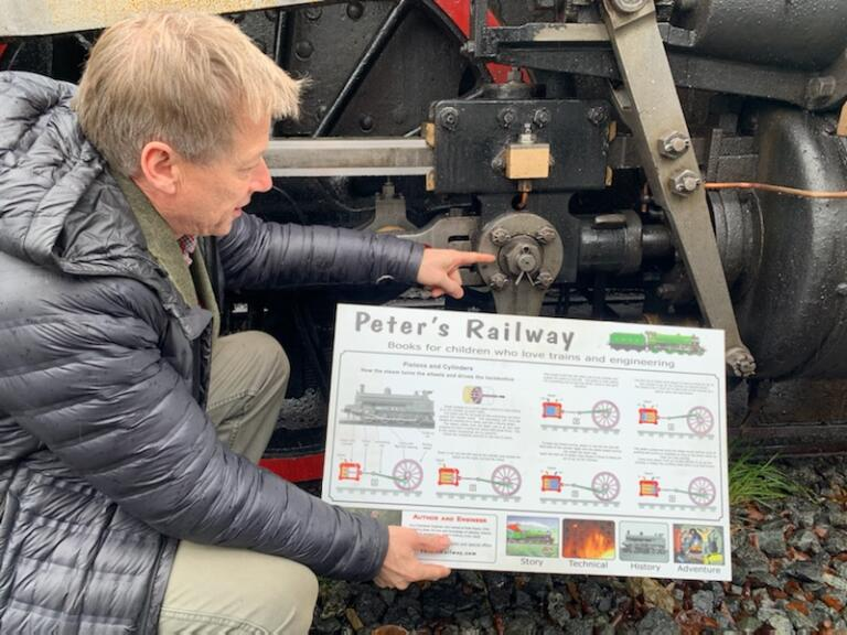Peters Railway Activity Books, meet the author