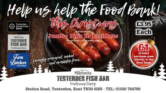 Tenterden Fish Bar Christmas Appeal