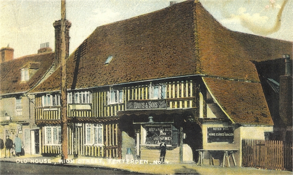 Tenterden Archive - Tenterden High Street - Lemon Tree to Recreation Ground Road