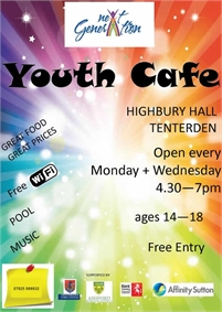 Next Generation Youth Cafe - Tenterden Youth Club