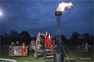 Photos The Queen's 90th Birthday Beacon