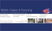 British Gates and Fencing