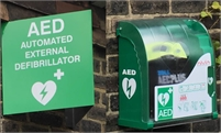 AED Location - St Michaels
