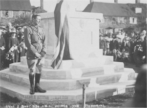 Tenterden Archive - War Memorial, Lower High Street, Tenterden