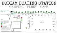 Bodiam Boating Station Campsite