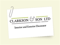 Clarkson & Son Painters & Decorators