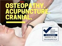 Bill Ferguson, Osteopath, Cranial Osteopathy, Acupuncture