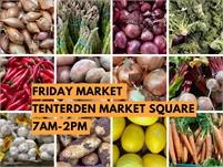 Friday and Saturday Market   Tenterden Market Square