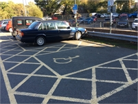 Recreation Ground Car Park Disabed Parking   Waitrose area