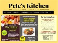 Petes Kitchen at The Tenterden Club