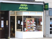 Mostyn McKenzie shoe shop