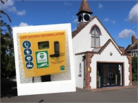AED Location   Trinity Baptist Church