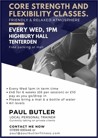 Paul Butler Fitness   Personal Trainer