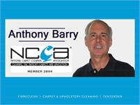 Fibreclean Carpet Cleaning with Anthony Barry