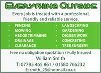 Everything Outside - William Smith