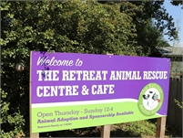 The Retreat Animal Rescue Farm Sanctuary and Cafe