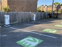 Station Road Car Park Electric Car Charging Point | Tenterden