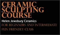 Clay Sculpture Classes | Helen Jewsbury Ceramics