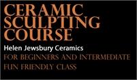 Clay Sculpture Classes   Helen Jewsbury Ceramics