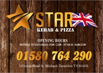 Star Kebab and Pizza in Tenterden