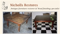 Nicholls Restores - Furniture Restoration & French Polishing