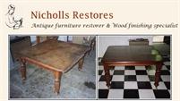 Nicholls Restores - Furniture Restoration & French Polishing