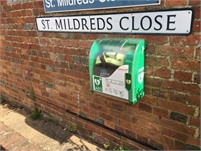 AED Location   Tenterden Social Hub