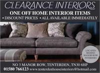 Clearance Interiors | Tenterden