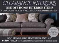The Warehouse Clearance Interiors & Tenterden Beds