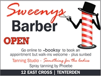 Sweeneys Barber | Tenterden