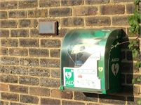 AED Location   Station Road Toilets   Tenterden