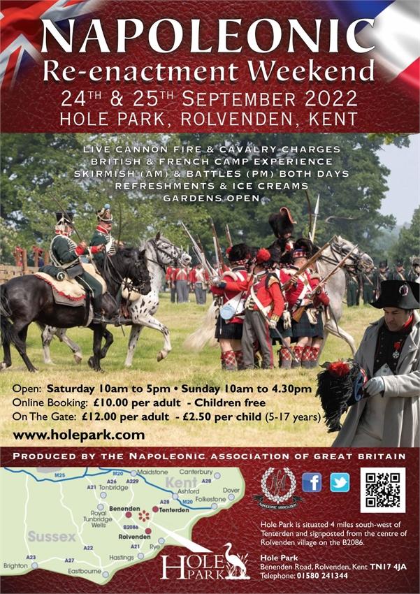 Napoleonic Re-enactment Weekend - Rolvenden, Kent