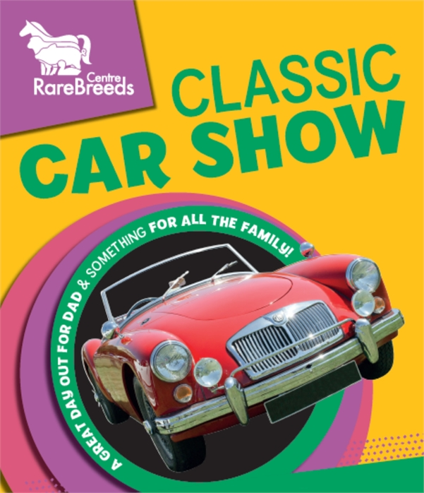 Classic Car Show On Fathers Day