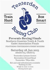 Tenterden Boxing Club Championship Boxing