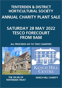 Charity Plant Sale   Tenterden Horticultural Society