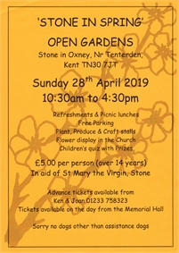 Spring in Stone Open Gardens Day