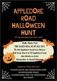 Appledore Road Halloween Hunt