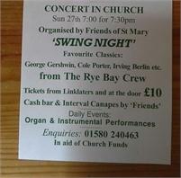 Rye Bay Crew Concert