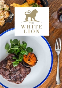 50% off Charcoal Steaks   The White Lion Hotel