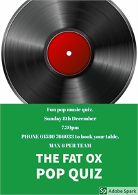 Music Quiz | The Fat Ox