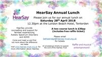 HearSay Trust Fundraising Lunch