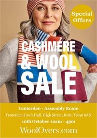 WoolOvers Sample sale