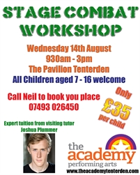 Childrens Stage Combat Workshop