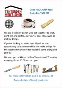 Tenterden & District Men's Shed