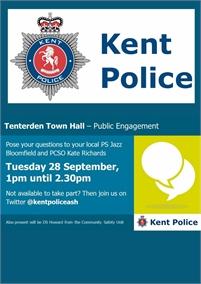 Public Engagement   Kent Police