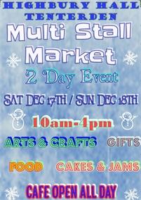 Multi Stall Market   Highbury Hall