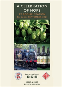 HopFest Family Fun at the Kent & East Sussex Railway at Bodiam Station