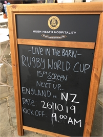 Six Nations Rugby at the Woolpack Tenterden