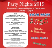 Christmas Party Nights at the London Beach Hotel